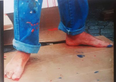 Performance painting 2004