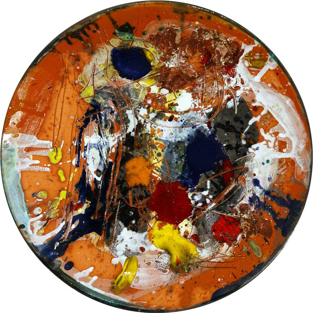 Tondo Ceramica di Giorgio Moiso