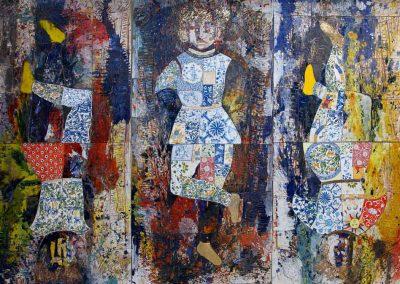 L'Appeso – trittico