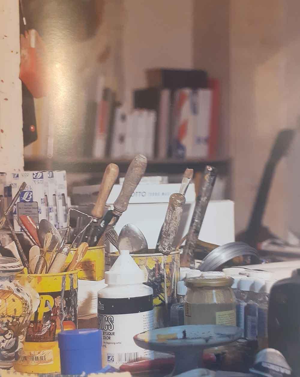 Foto pennelli studio Giorgio Moiso