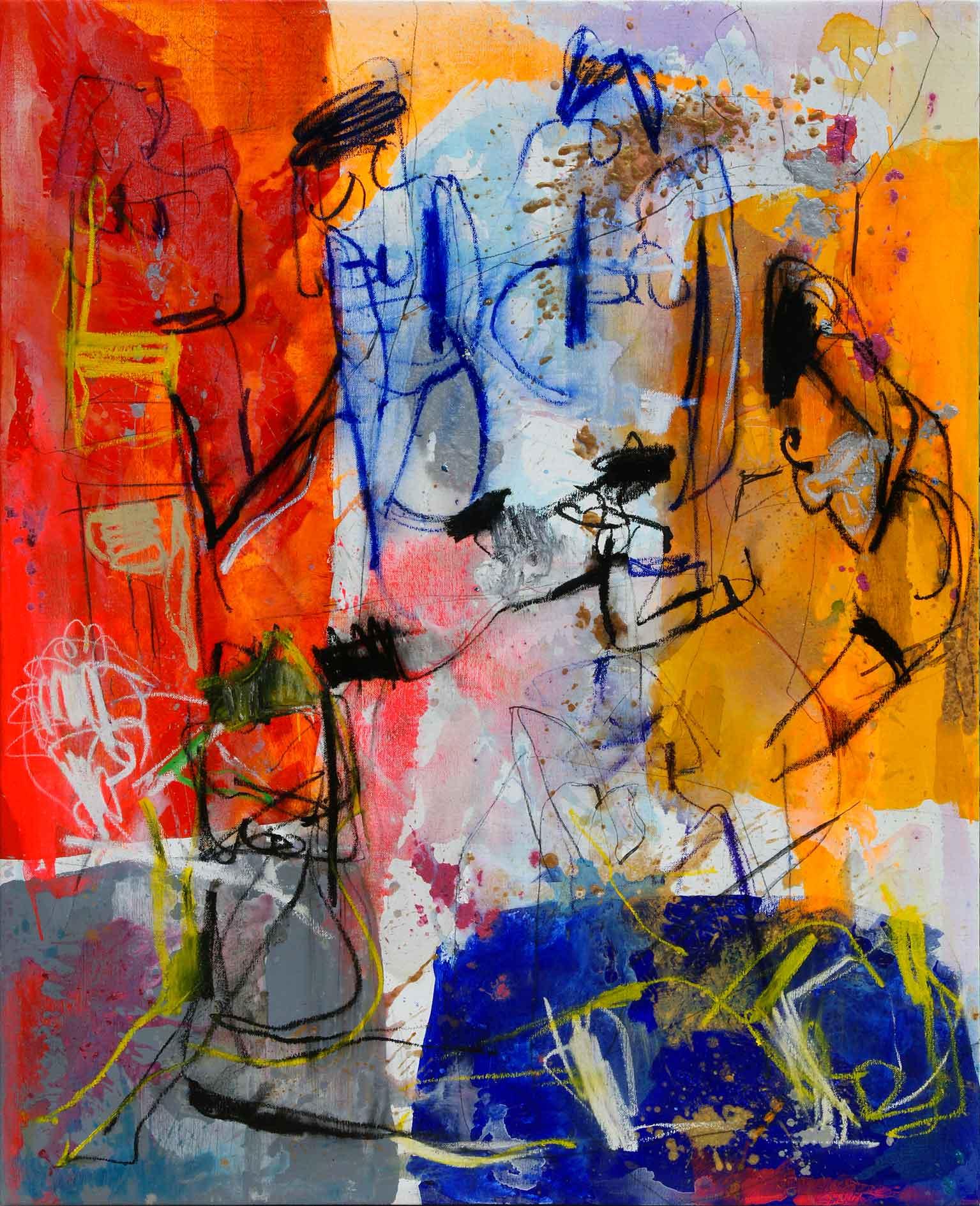 Olio su tela di Giorgio Moiso